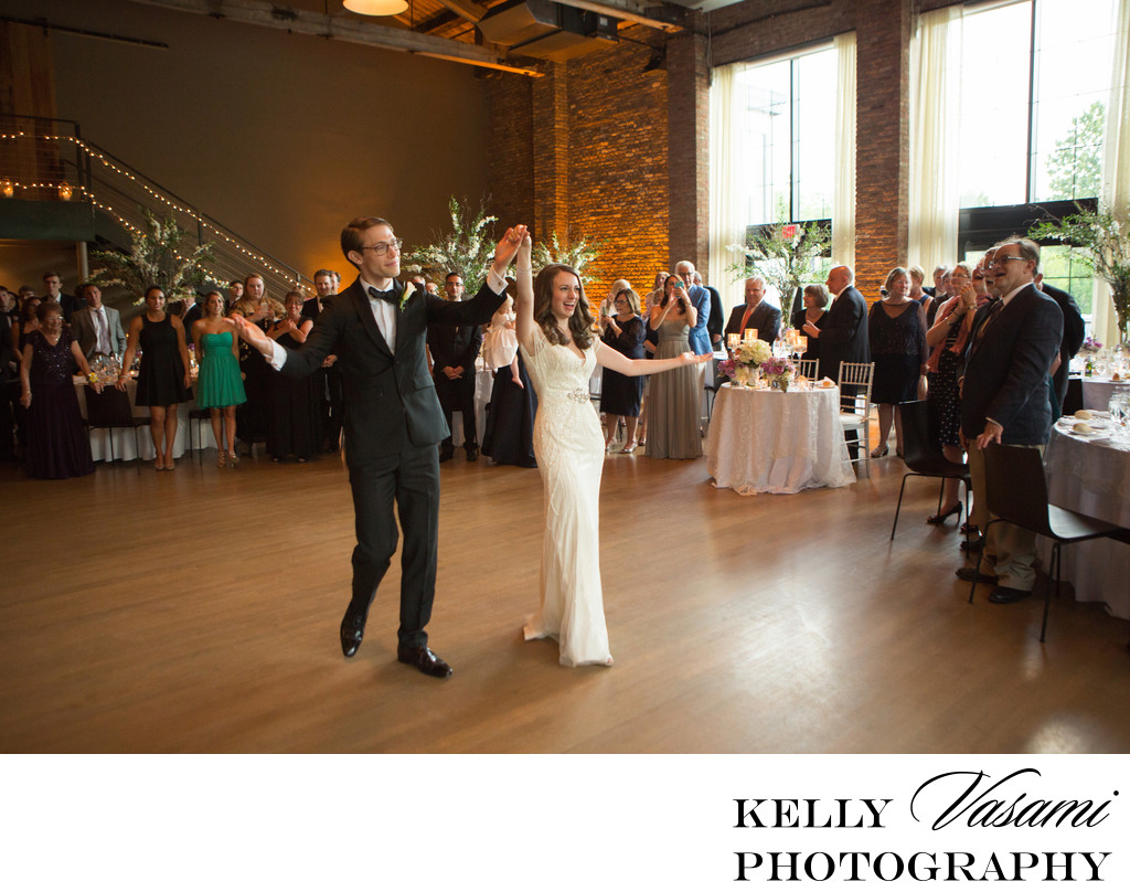 Wedding reception Photos | Roundhouse at Beacon