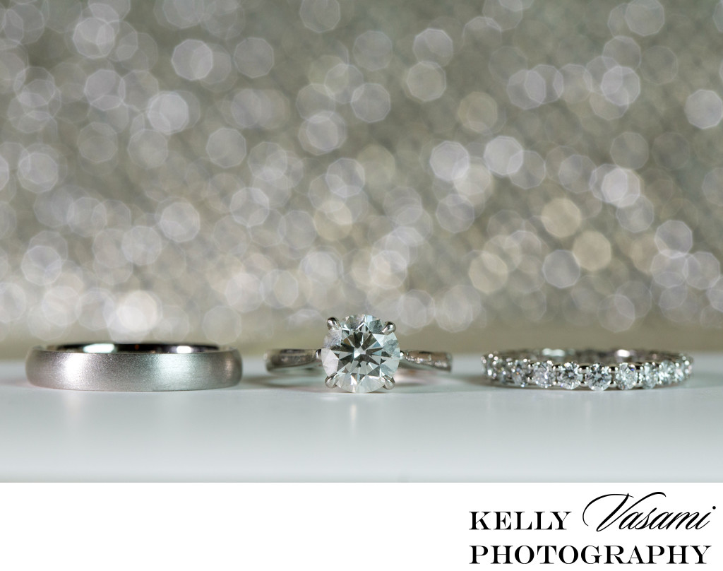 Sparkling Wedding Ring Photos New York City Westchester