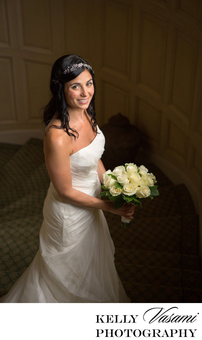 Bridal Portrait Sleepy Hollow Country Club