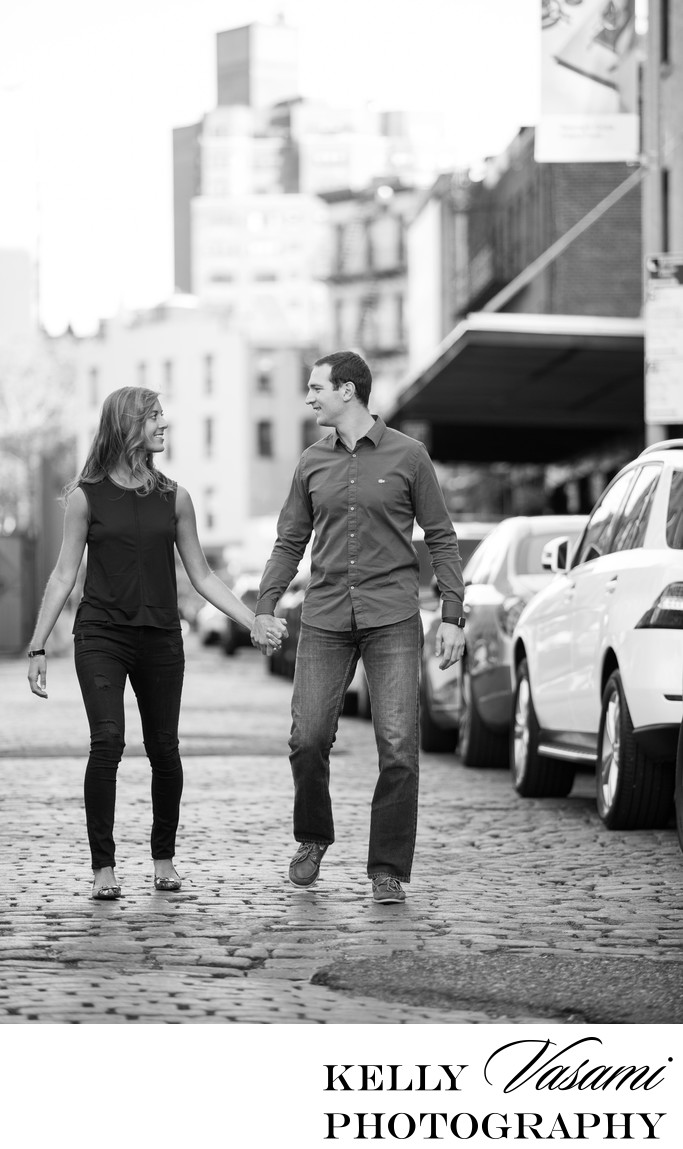 meatpacking district engagement session ideas
