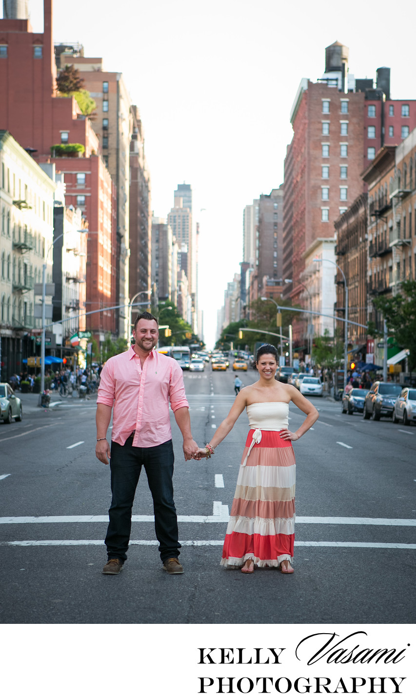 Manhattan Street Photography | Engagement Session
