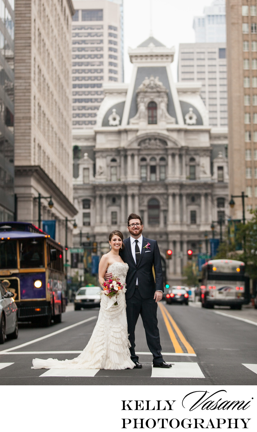 Philadelphia City Hall Wedding Photography