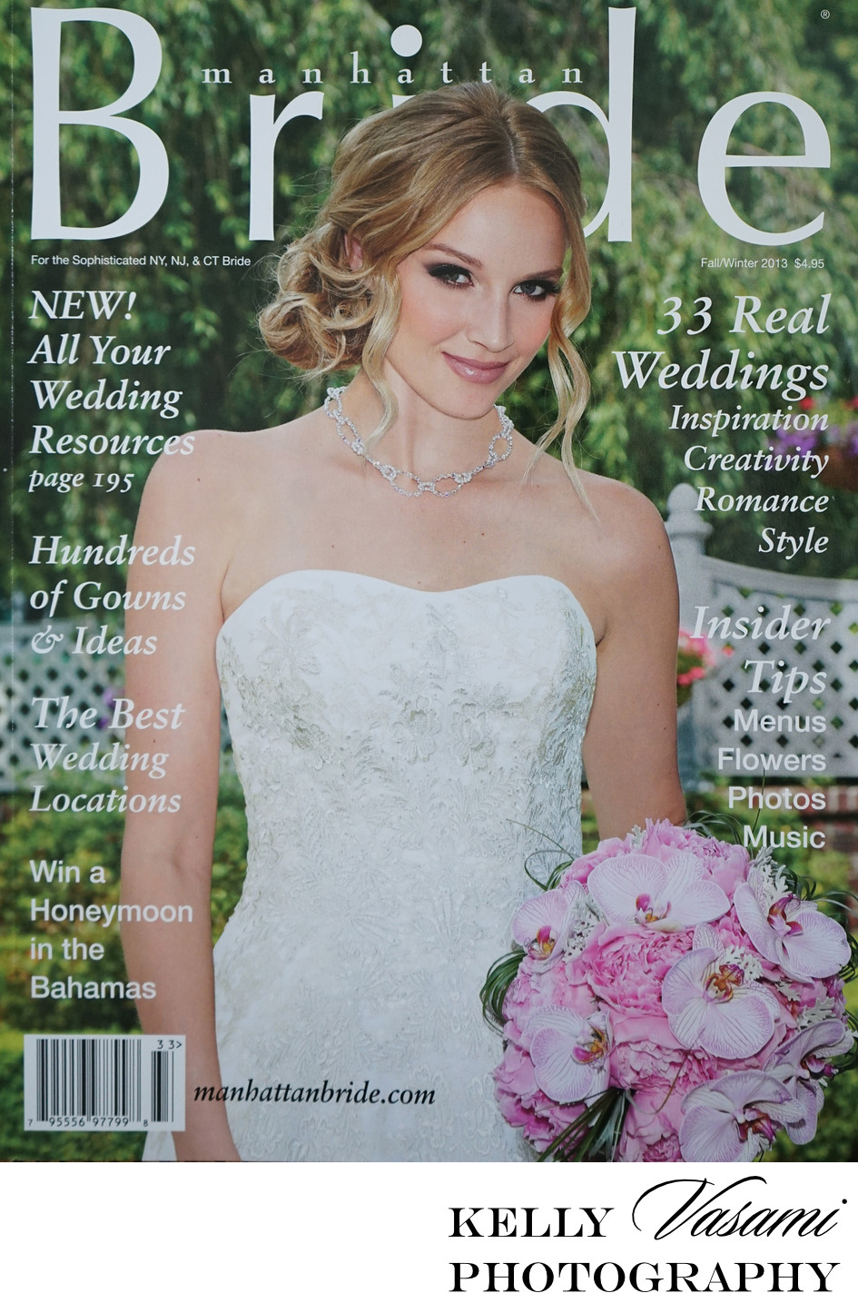 Cover of Manhattan Bride Magazine | Fall Winter 2013
