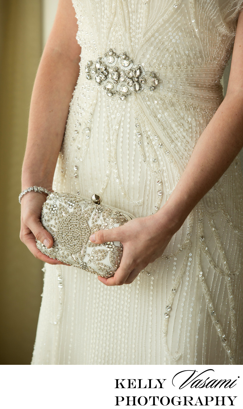 Vintage Beaded Purse & Wedding Gown | Westchester