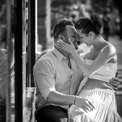 Engagement Session | NYC Street Photography
