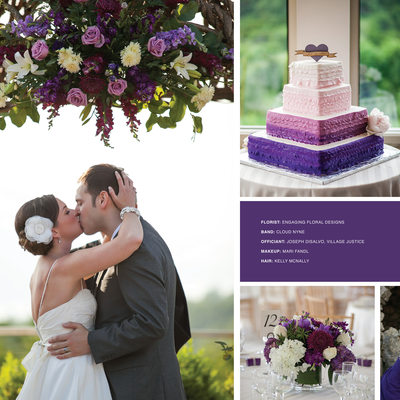 A Purple Wedding at The Garrison | Wedding Magazine