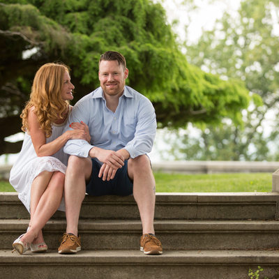 Relaxed and Casual Engagement Sessions in Westchester