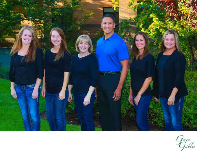 Dr. Charles Regalado DDS and his staff