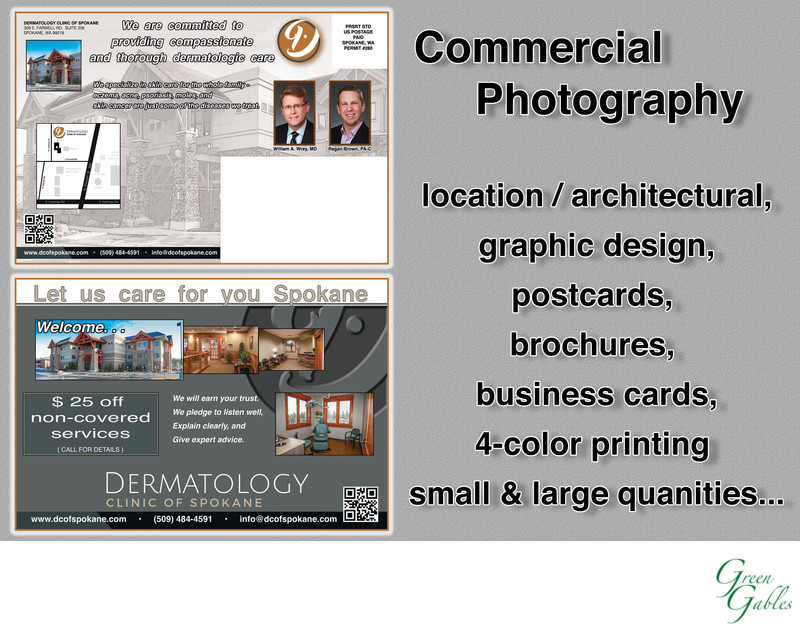 Dermatology Clinic of Spokane, post card mailer