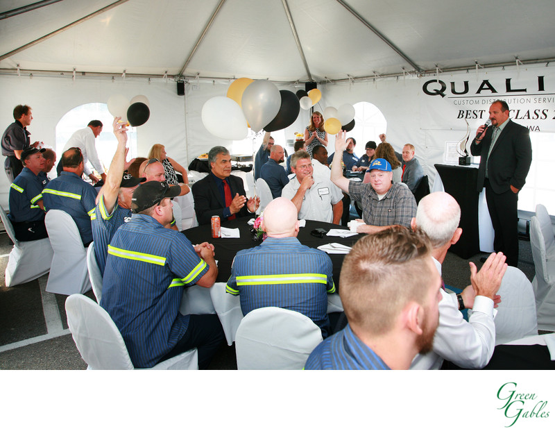 Quality Custom Distribution awards lunch