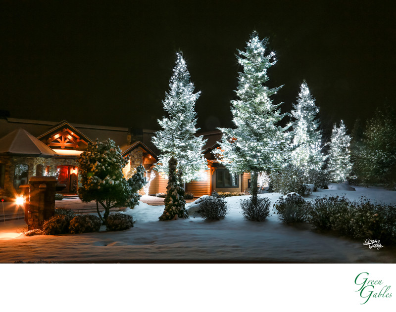 Night photography for Senske Lighting Christmas