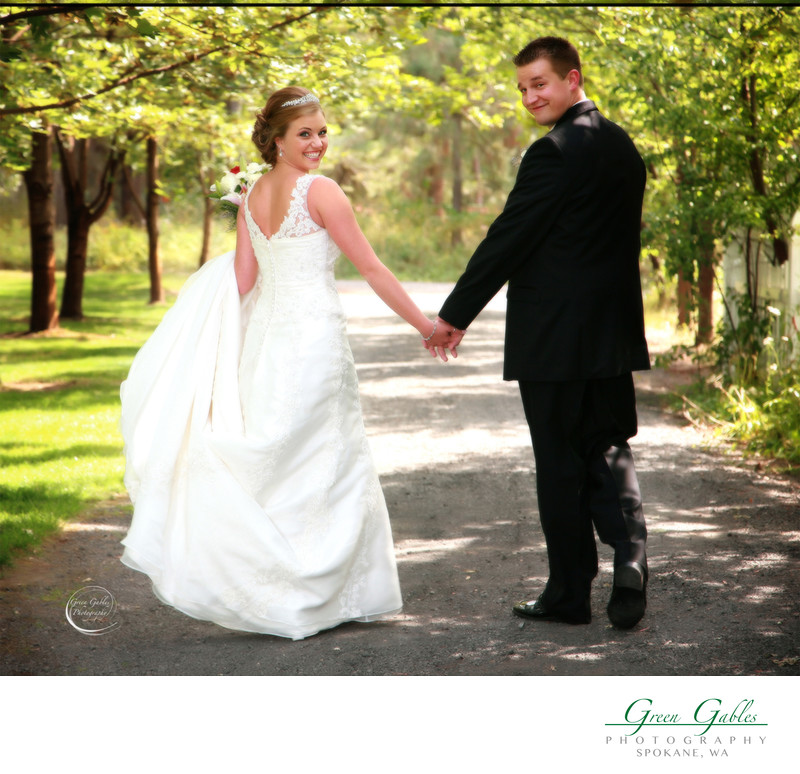 Happily ever after, Belle Gardens in Deer Park, WA