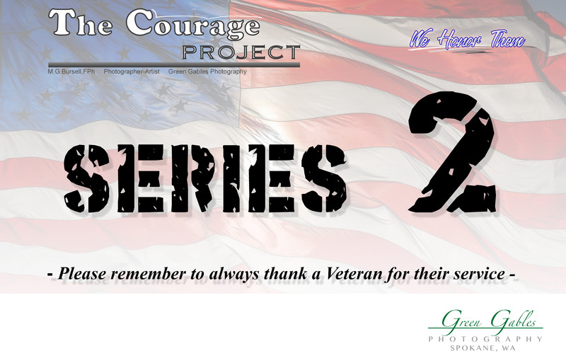 The Courage Project Series 2 - Veterans Display