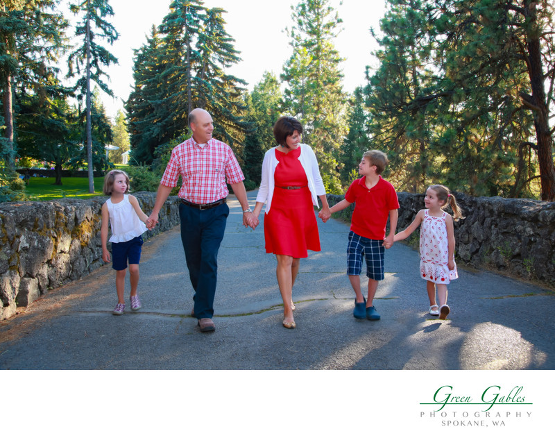 family photos-Manito Park-location