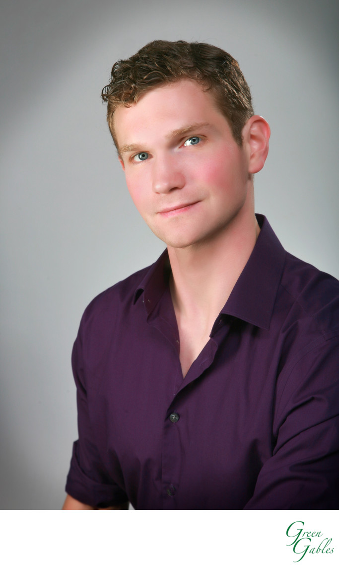 Male portfolio headshot