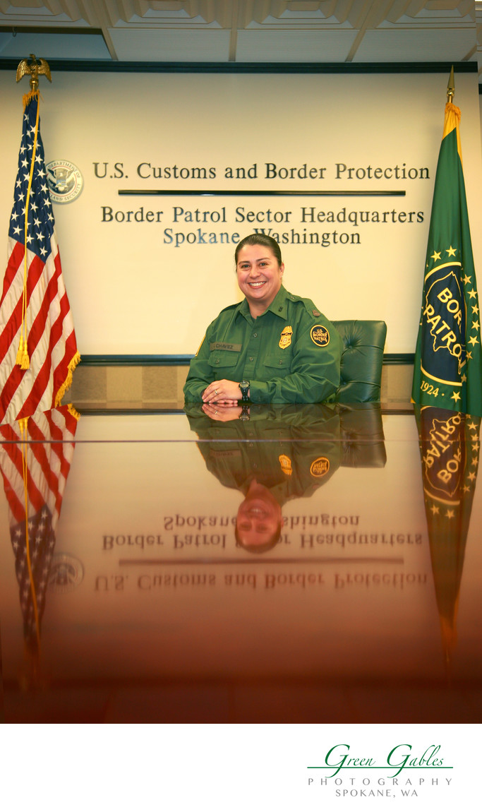 US Customs Border Patrol Chief, Spokane sector