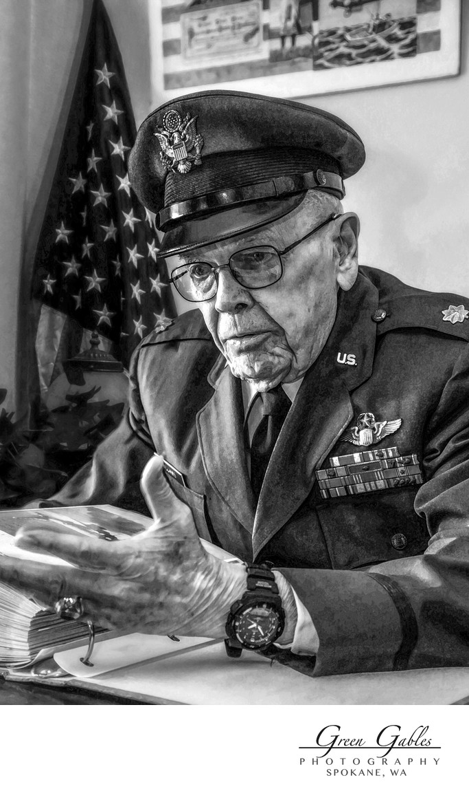 US Air Force Veteran, Major Stan Williams
