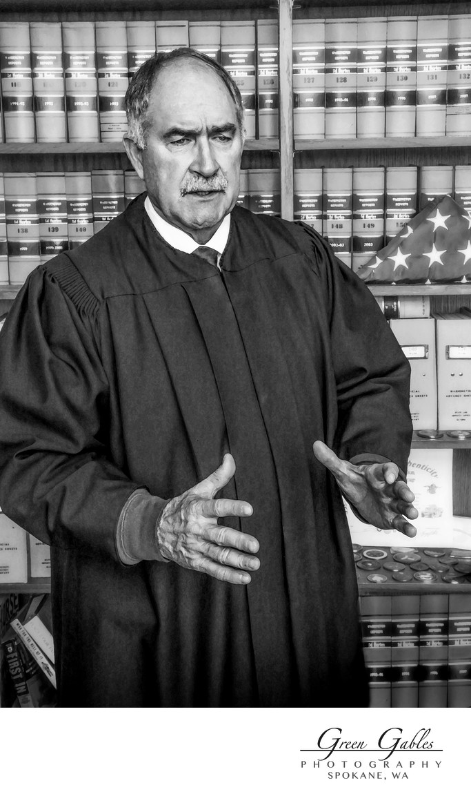 US Army Veteran, Judge Vance Peterson