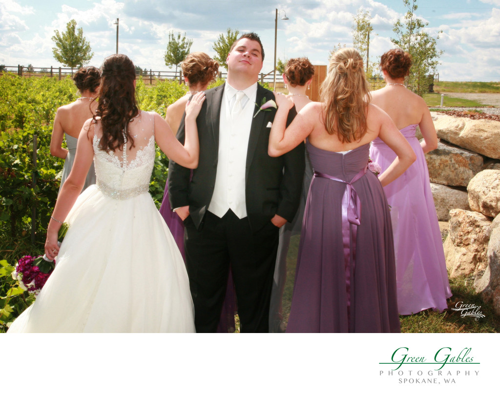 this groom feel special, Trezzi Farm Winery