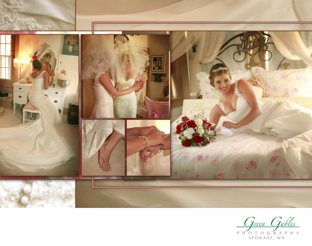 Belle Gardens brides room