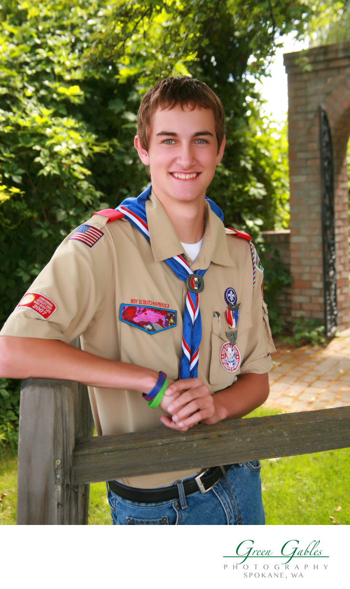outdoor Eagle Scout