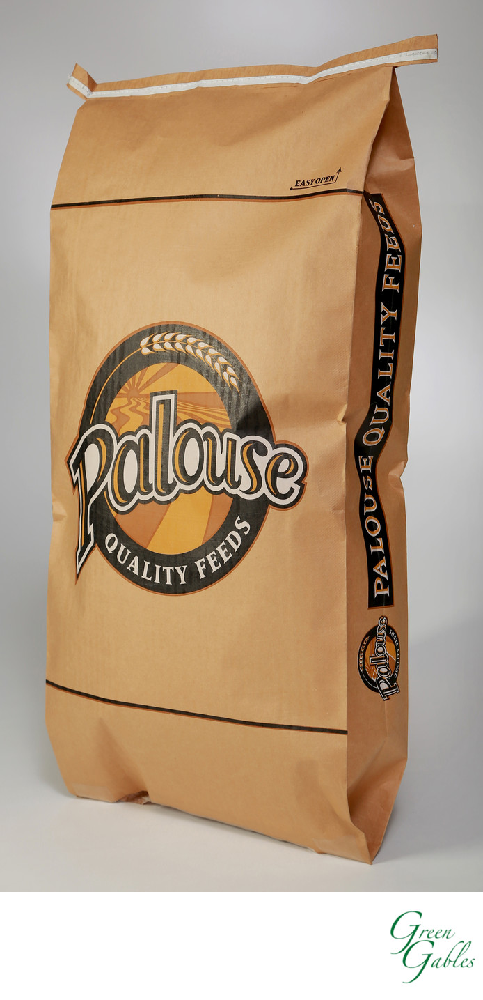 Palouse Quality Feeds, Justus Bag Co. Spokane, WA