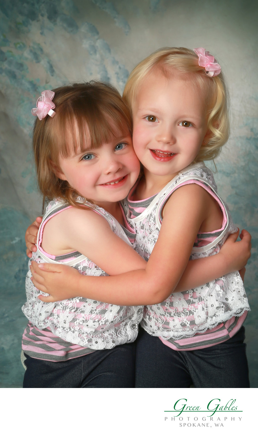 cousins fun studio portrait