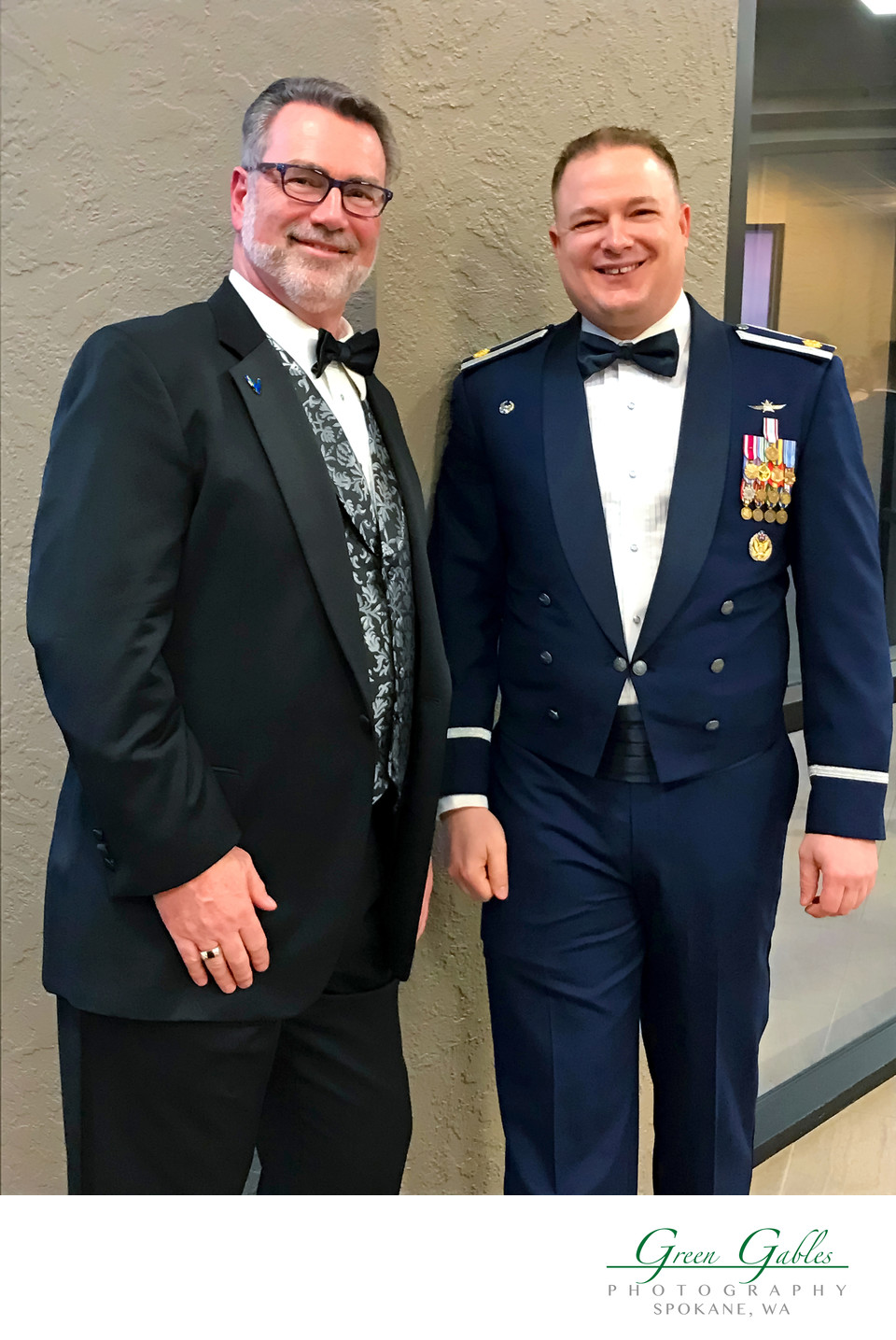 Fairchild AFB-Awards Ceremony-Major Baker-Myron-Spokane
