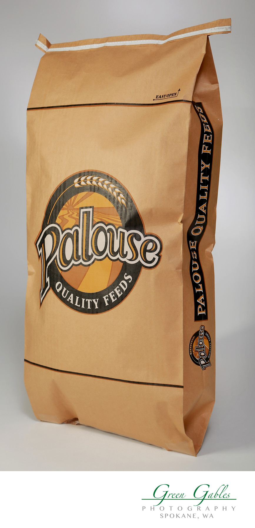 Palouse Quality Feed, Justus Bag Co.