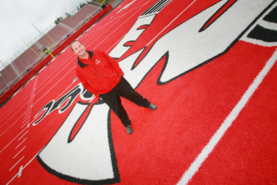 EWU Football Coach, Beau Baldwin