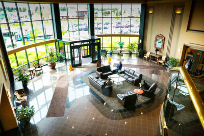 Guardian Insurance, view to lobby, Spokane HQ