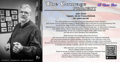 US Air Force Veteran, Capt. John Davis