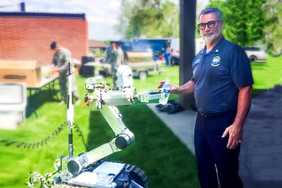Fairchild Air Force Base-Bomb Squad robot-Myron-Spokane