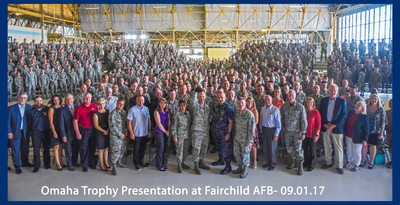 Fairchild Air Force Base-Omaha Trophy Ceremony-Myron