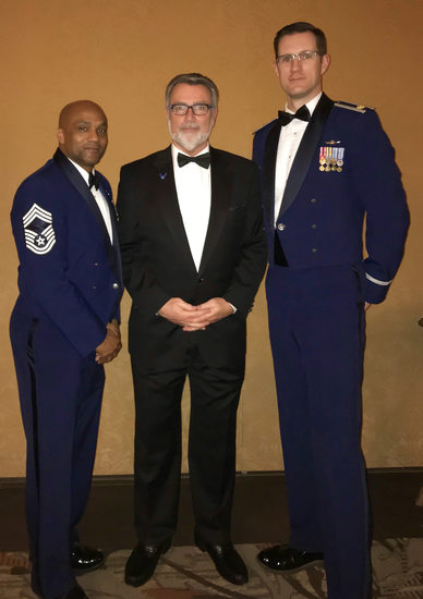 Fairchild AFB-Chief Taylor-Myron-Maj. Aevermann-Spokane