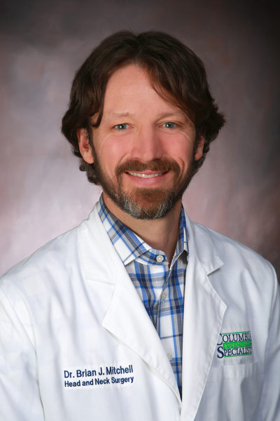 Dr. Brian mitchell, Columbia Surgical Specialist
