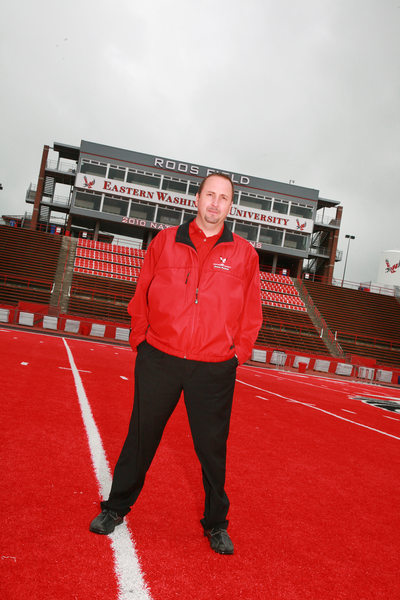Eastern Washing University head Coach Beau Baldwin