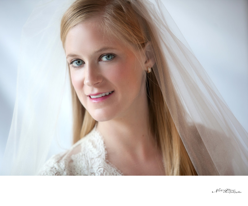 Studio Bridal Portrait | Charlotte Bridal Photographer