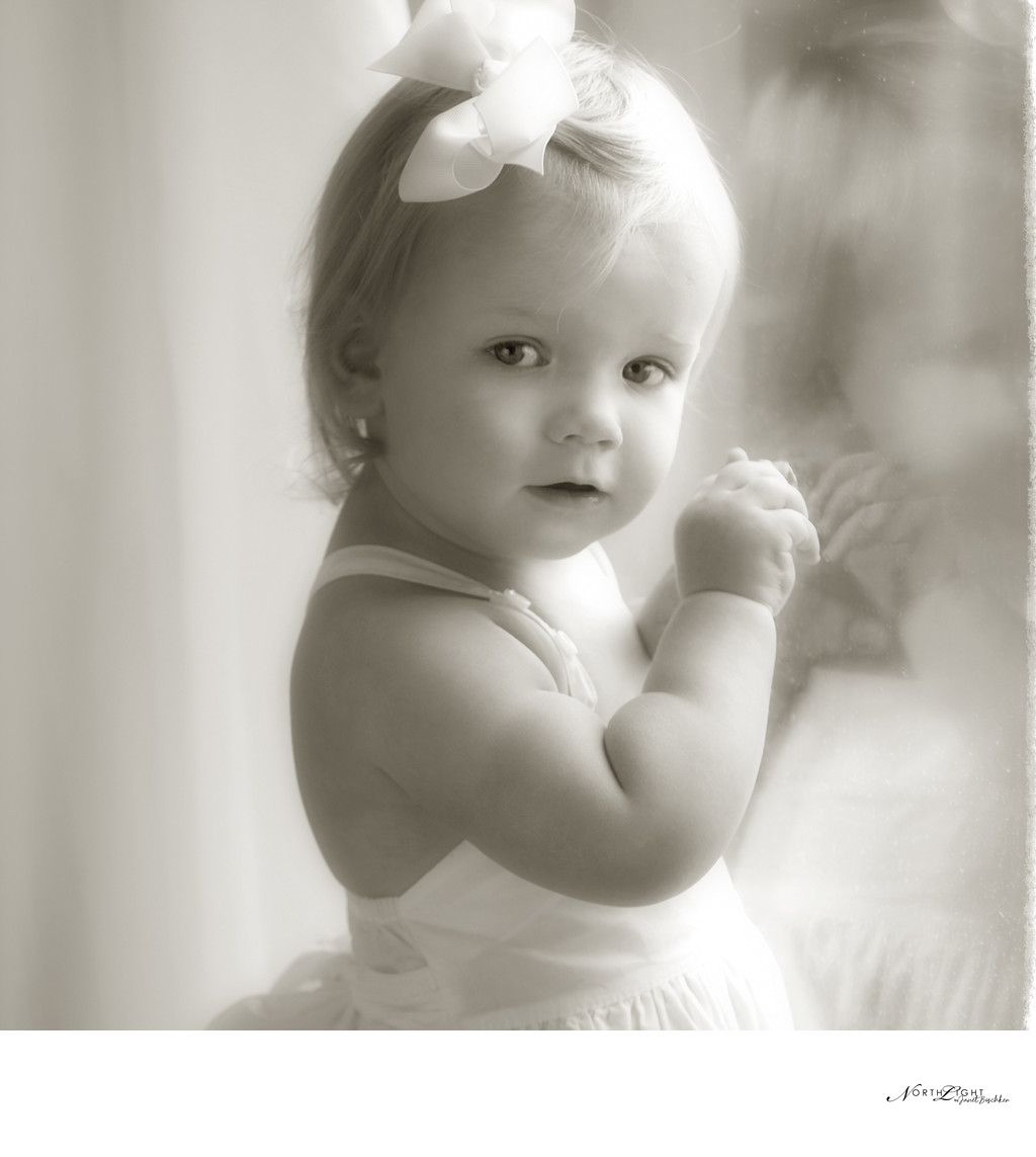 Best Charlotte Black and White Child Photographer