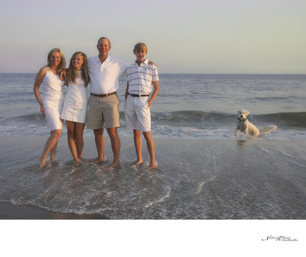 Bald Head Island: Family Photograph