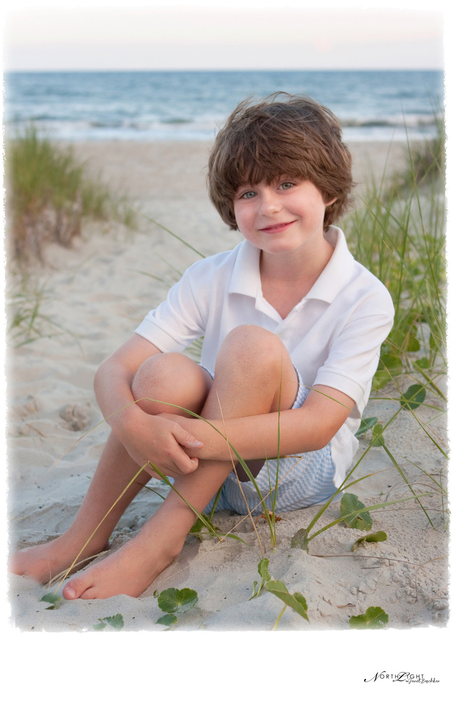 Professional Photograph | Young Boy at Holden Beach