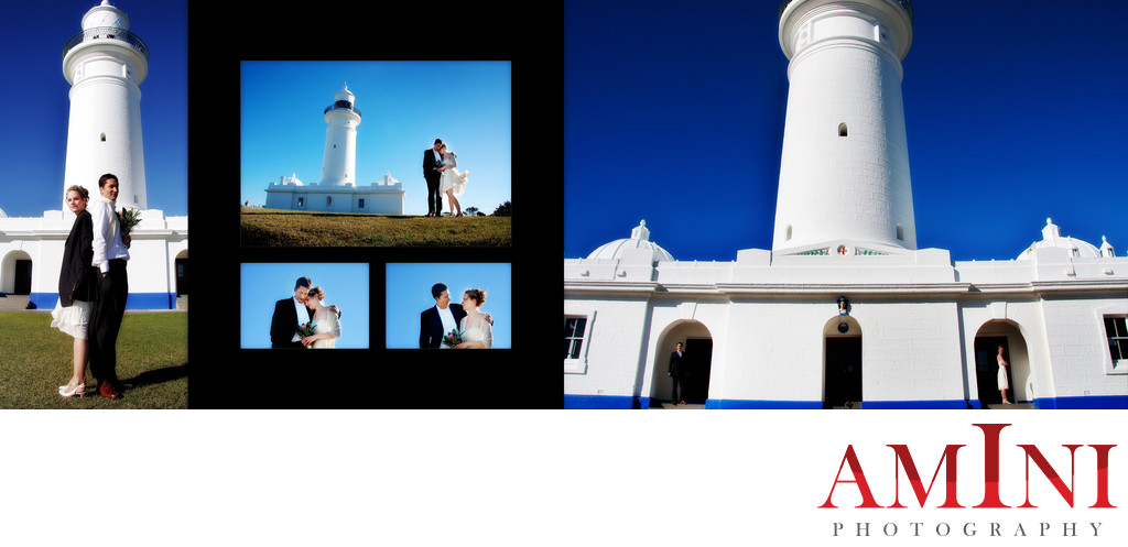 Wedding Photography Macquarie Light House