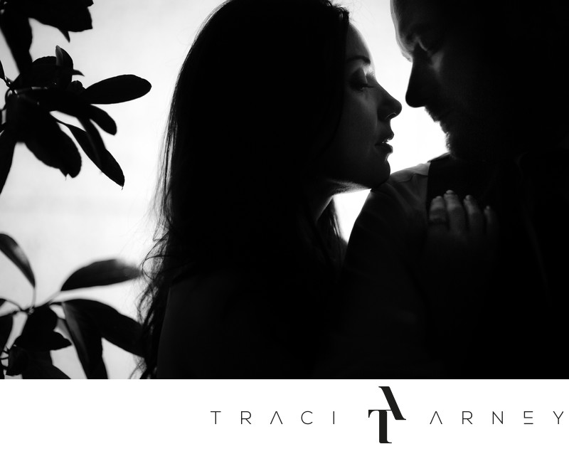 Black & White Romance Session, O.Henry Hotel, Greensboro
