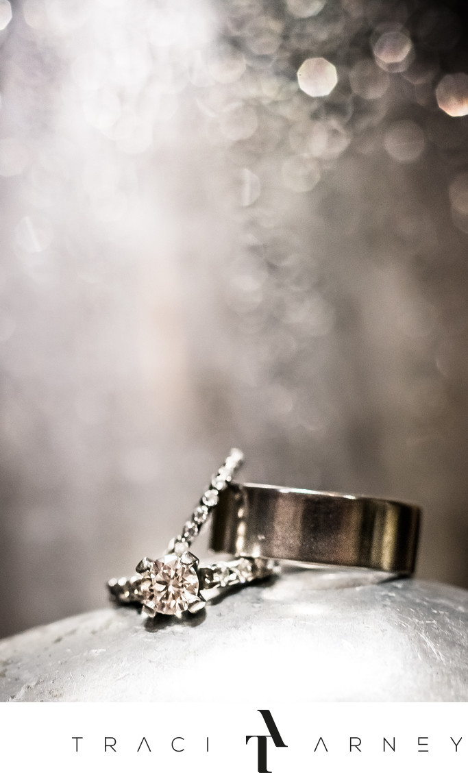 Ring Detail Shot, Fearrington Village, Pittsboro, NC