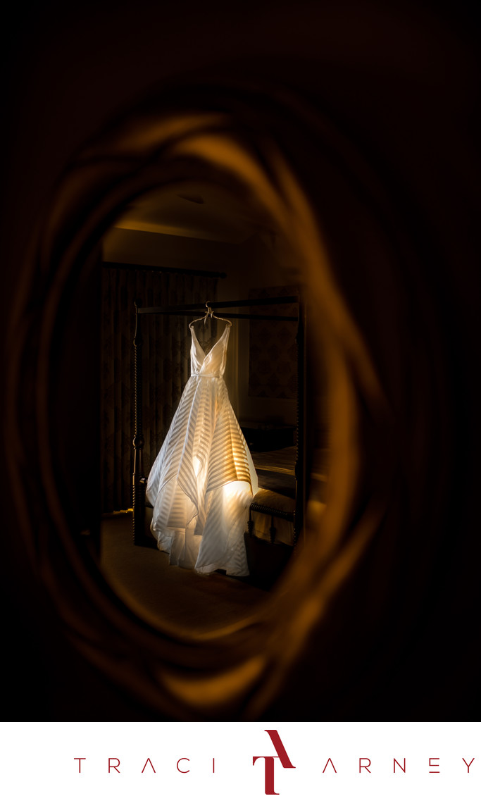 Wedding Gown Detail, Terranea Resort, California