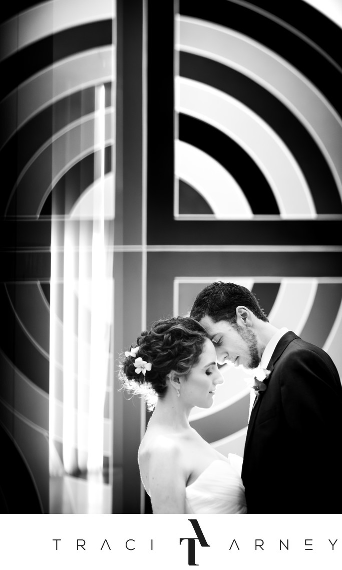 NC Museum of Art Modern Jewish Wedding Raleigh NC