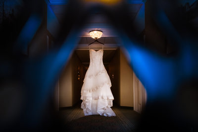 Wedding Gown Detail Shot, O.Henry Hotel, Greensboro, NC