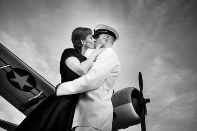 Military Engagement Session, USS North Carolina Battleship