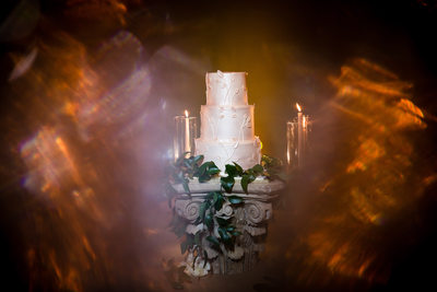 O.Henry Hotel Wedding Cake Detail, Greensboro, NC