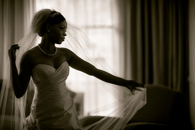 Top Charlotte African American Wedding Photographer